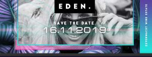 The Eden Experience Event Promo Poster